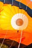Aerostación con un globo del aire caliente en el compartimiento 22 de Alemania 09 2 foto de archivo libre de regalías