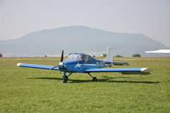 Aerostar-Festival-ultra Leichtflugzeug Stockfotografie