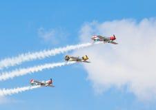 Aerostars Lizenzfreies Stockbild