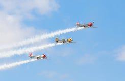 Aerostars Lizenzfreie Stockfotografie