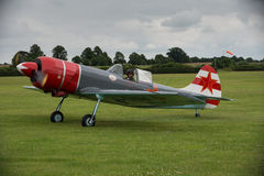 Aerostars YAK 52 display aircraft Royalty Free Stock Photography