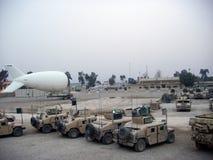 Aerostat på URKEDJAN Rustamiyah Irak 07 Arkivbild