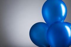 Aerostati blu Immagine Stock