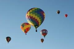 Aerostati di aria calda Fotografie Stock