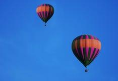 Aerostati di aria calda Fotografie Stock Libere da Diritti