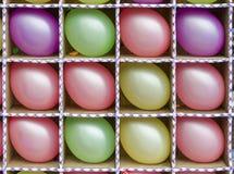 Aerostati multicolori Immagine Stock