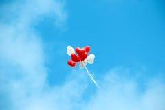 Aerostati nel cielo Fotografia Stock Libera da Diritti