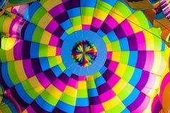 Aerostatic tęczy spirala fotografia royalty free
