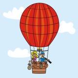 Aerostato Illustrazione di Stock
