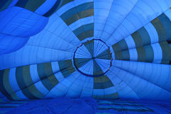 Aerostato blu Fotografie Stock