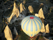 Aerostato in Cappadocia Immagini Stock Libere da Diritti