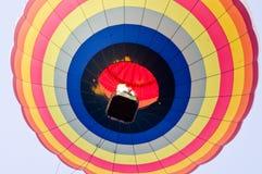 Aerostato che galleggia al cielo Fotografia Stock