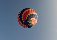 Aerostato in cielo fotografia stock