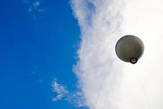 Aerostato in cielo Fotografie Stock