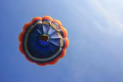 Aerostato con cielo blu Fotografia Stock Libera da Diritti