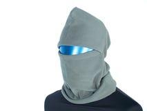 Aerostato con la mascherina nel crimine Fotografie Stock Libere da Diritti