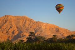 Aerostato della valle del Nilo Fotografia Stock