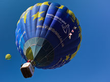Aerostato di aria calda BRITANNICO di Bristol di chiamata Fotografia Stock