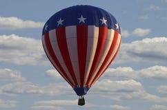 Aerostato di aria calda degli S.U.A. Fotografia Stock