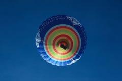 Aerostato di aria calda del d'Oex del chateau Immagine Stock Libera da Diritti