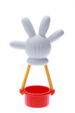 Aerostato di aria calda di Mickey Mouse Immagini Stock Libere da Diritti
