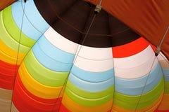 Aerostato di aria calda, particolare Fotografia Stock