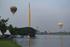 Aerostato di aria calda Putrajaya Fotografie Stock Libere da Diritti