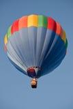 Aerostato di aria calda qui sopra Fotografia Stock Libera da Diritti