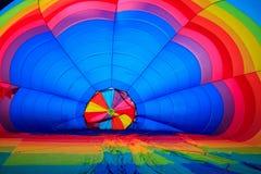 Aerostato di aria colorato Immagine Stock