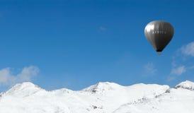 Aerostato di aria olimpico Fotografia Stock