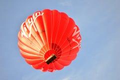 Aerostato sul cielo Immagine Stock