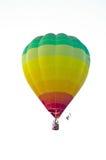 Aerostato variopinto che galleggia al cielo Fotografie Stock Libere da Diritti