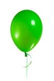 Aerostato verde fotografia stock libera da diritti