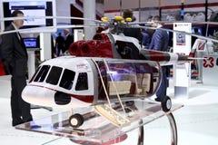 Aerotaksi del helicóptero MI-171 Foto de archivo