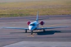 Aerotaxi Soggiorno piano in aeroporto Fotografia Stock