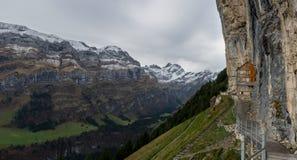 Aescher Wildkirchli Appenzell στοκ εικόνες με δικαίωμα ελεύθερης χρήσης