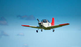 AESL Airtourer T6 in flight Stock Photography