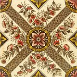 Aesthetic Design Tile. A late Victorian Aesthetic design tile c1880 Royalty Free Stock Photo
