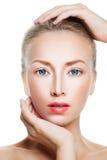 Aesthetic Medicine Concept. Closeup Spa Portrait Stock Photo