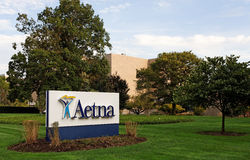Aetna-Welt-Headquarters Stockfotos