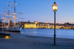 Af-ambulanter Händler, Stockholm, Schweden Lizenzfreie Stockbilder