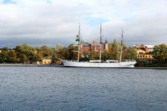 Af Chapman Sailboat à Stockholm, Suède images libres de droits