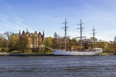 Af Chapman (ship) in Stockholm Stock Photo