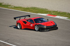 AF Corse Ferrari 488 GT3 at Monza Royalty Free Stock Photography