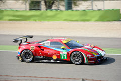 AF Corse Ferrari 488 GTE at Monza Royalty Free Stock Photos