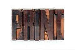 Af:drukken stock fotografie