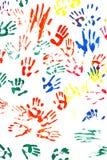 Af:drukken van handen royalty-vrije stock afbeelding