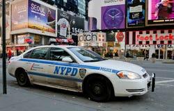 Af en toe Vierkant NYPD Stock Afbeelding