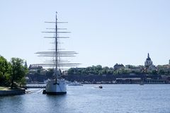 Af-gårdfarihandlare, skepp vandrarhem royaltyfria foton