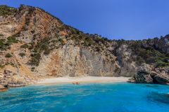 Afales-Strand Ithaca, Griechenland Lizenzfreie Stockbilder